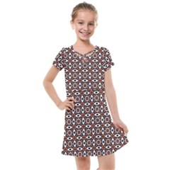 Castara Kids  Cross Web Dress by deformigo