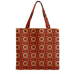 Miglieri Zipper Grocery Tote Bag by deformigo