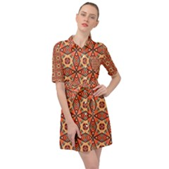 Miglieri Belted Shirt Dress by deformigo