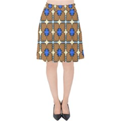 Mirano Velvet High Waist Skirt by deformigo