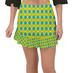 Taroa Fishtail Mini Chiffon Skirt by deformigo