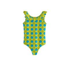 Taroa Kids  Frill Swimsuit by deformigo