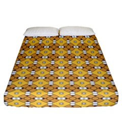 Terrivola Fitted Sheet (california King Size) by deformigo