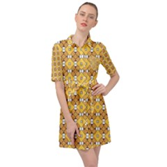 Terrivola Belted Shirt Dress by deformigo