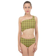 Capriccium Spliced Up Two Piece Swimsuit