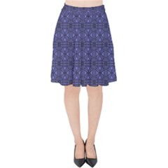 Sakami Velvet High Waist Skirt by deformigo