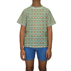 Masella Kids  Short Sleeve Swimwear by deformigo