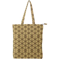 Berenice Double Zip Up Tote Bag by deformigo