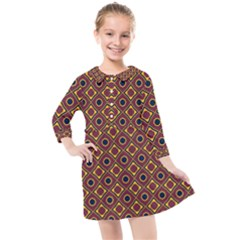 Socotra Kids  Quarter Sleeve Shirt Dress by deformigo