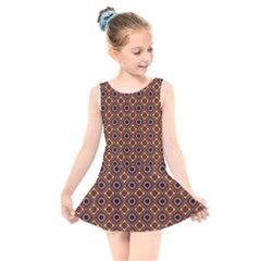 Socotra Kids  Skater Dress Swimsuit by deformigo