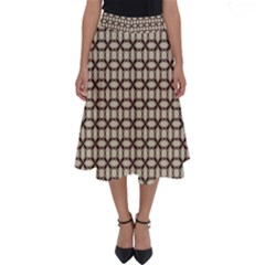 Esperanto Perfect Length Midi Skirt by deformigo