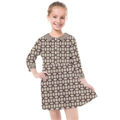 Esperanto Kids  Quarter Sleeve Shirt Dress by deformigo