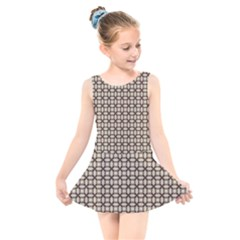 Esperanto Kids  Skater Dress Swimsuit by deformigo