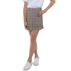 Esperanto Kids  Tennis Skirt by deformigo