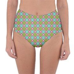 Forio Reversible High Waist Bikini Bottoms by deformigo