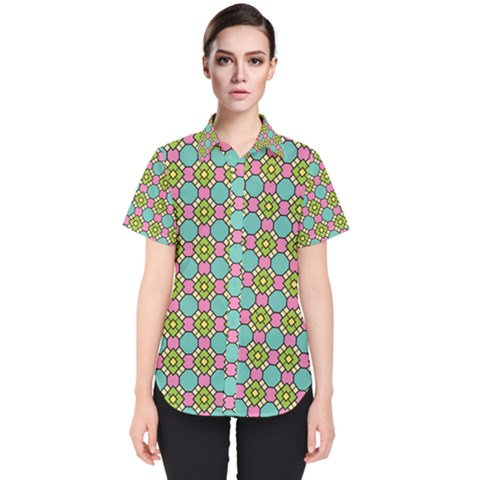 Forio Women s Short Sleeve Shirt by deformigo