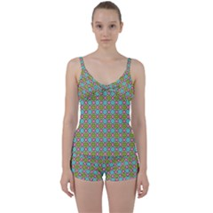 Forio Tie Front Two Piece Tankini by deformigo