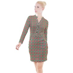 Tofino Button Long Sleeve Dress by deformigo
