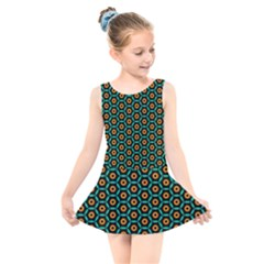 Socorro Kids  Skater Dress Swimsuit by deformigo