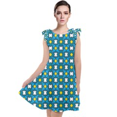 Suplado Tie Up Tunic Dress