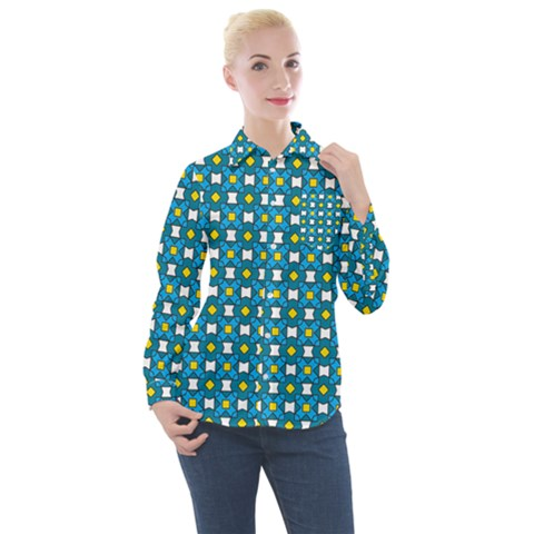 Suplado Women s Long Sleeve Pocket Shirt by deformigo