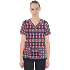 Maria Mai Women s V-neck Scrub Top by deformigo