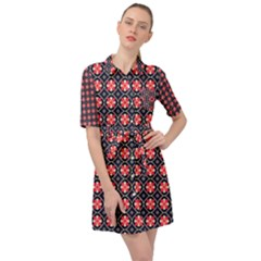 Maria Mai Belted Shirt Dress by deformigo