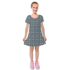 Sotira Kids  Short Sleeve Velvet Dress by deformigo