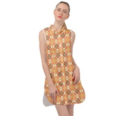 Mollis Sleeveless Shirt Dress by deformigo
