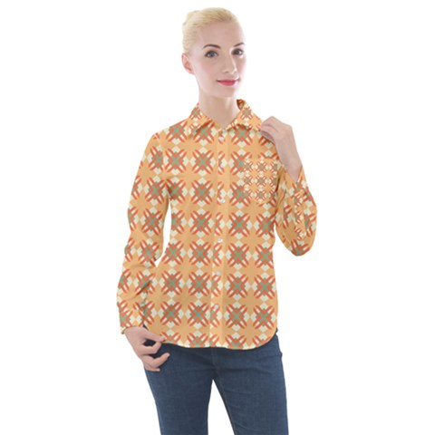 Mollis Women s Long Sleeve Pocket Shirt by deformigo