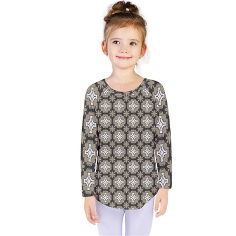 Eliana Kids  Long Sleeve Tee by deformigo