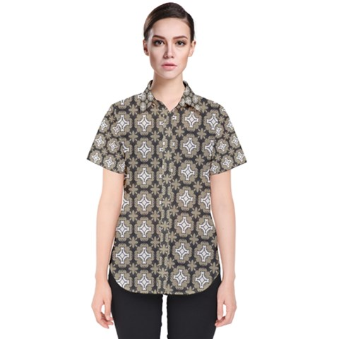 Eliana Women s Short Sleeve Shirt by deformigo