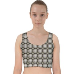 Eliana Velvet Racer Back Crop Top