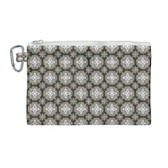 Eliana Canvas Cosmetic Bag (large) by deformigo