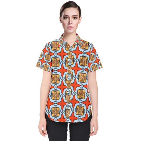 Ascain Women s Short Sleeve Shirt by deformigo