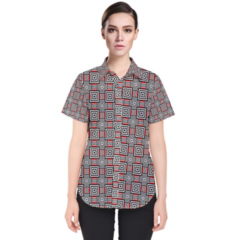 Vincentia Women s Short Sleeve Shirt by deformigo