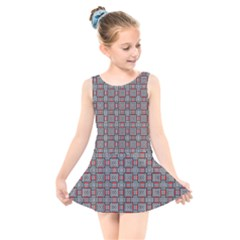 Vincentia Kids  Skater Dress Swimsuit by deformigo