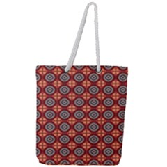 Espadella Full Print Rope Handle Tote (large)