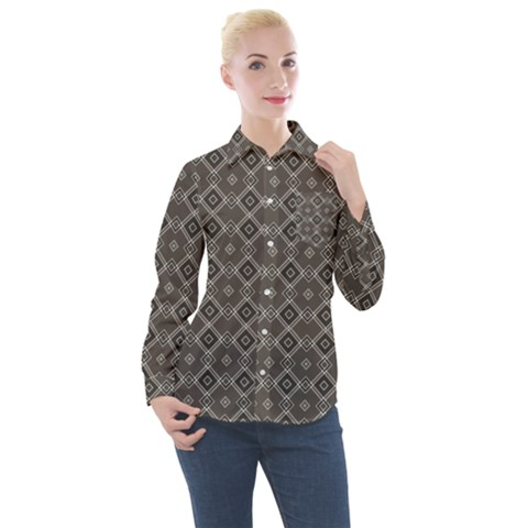 Aranyel Women s Long Sleeve Pocket Shirt by deformigo