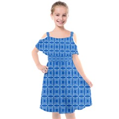 Fulden Kids  Cut Out Shoulders Chiffon Dress by deformigo