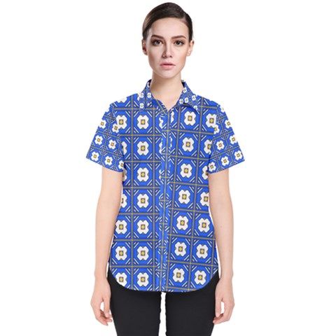 Mathiveri Women s Short Sleeve Shirt by deformigo
