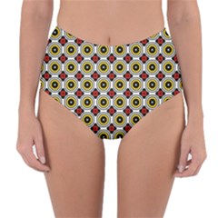 Casperia Reversible High Waist Bikini Bottoms by deformigo