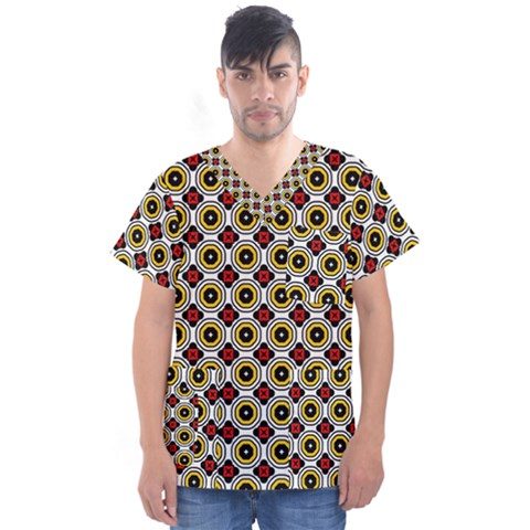 Casperia Men s V Neck Scrub Top by deformigo