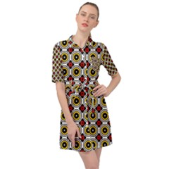 Casperia Belted Shirt Dress by deformigo