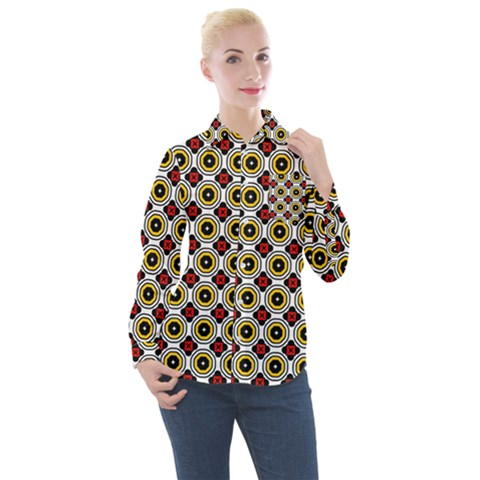 Casperia Women s Long Sleeve Pocket Shirt by deformigo