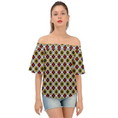 Casperia Off Shoulder Short Sleeve Top by deformigo
