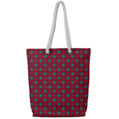 Nukanamo Full Print Rope Handle Tote (small)