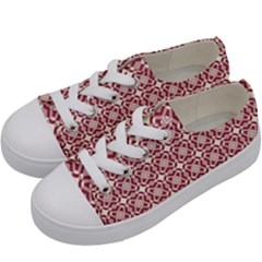 Meniko Kids  Low Top Canvas Sneakers by deformigo