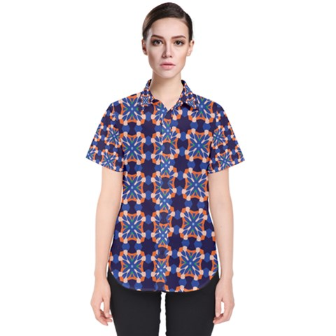 Lakatamia Women s Short Sleeve Shirt by deformigo