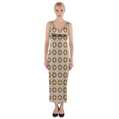 Antonimo Fitted Maxi Dress by deformigo